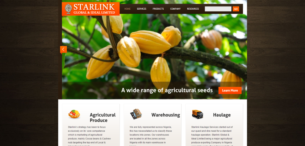 Starlink Global   Ideal Limited   A new generation of agricultural support service