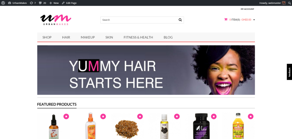 UrbanMakes   UrbanMakes Ghana – Hair  Skin  Makeup and Fitness Online Store